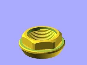 BBS Lola Style Centerlock nut P/N: 09.21.166
