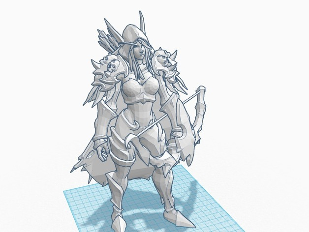 Sylvanas Heroes Of The Storm By Hannemaster Thingiverse But that was before the death knight arthas slew her and her people and raised her as the first banshee. sylvanas heroes of the storm by