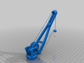 Model crane 3 axis working servo motor Arduino controlled