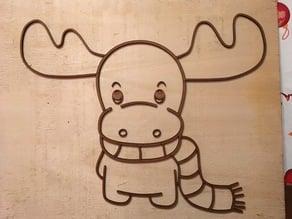 So cute Reindeer