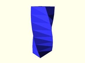 Square Vase(Customizable)