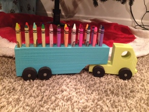 Semi & Crayon Holder