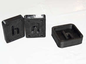 Customizable Two-Part Mold for Creating Silicone/Rubber Objects