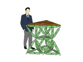 TrussFab Standing Desk