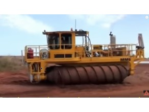 Remote controlled trencher