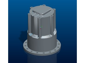 RC excavator rotating engine coverage