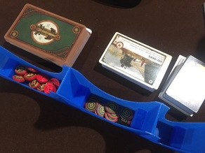 Scythe Board Game Card Holder