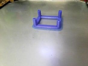 Laser circuit mount