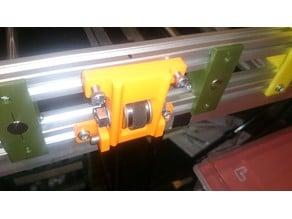 Belt tensioner for MendelMax 1.5 two bearings