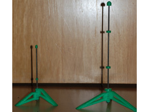 Parametric Flute Stand