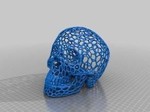 Skull - Voronoi effect