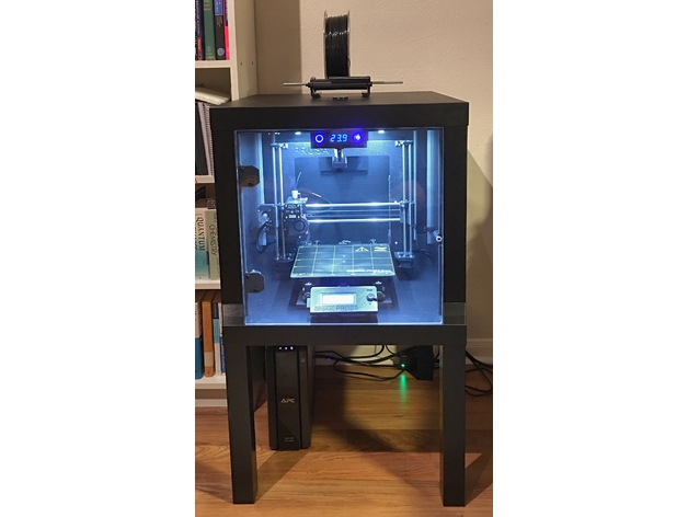 Tinker Friendly Lack Enclosure By Zuspiel Thingiverse