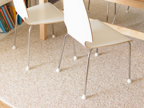 IKEA vilmar chair plugs feet