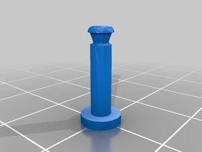 Lumenier Action Camera Mount Vibration Dampening Pins and Circlips (QAV-180 QAV-210 QAV-R )