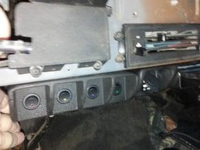 Jeep YJ - Switch Tray under dash