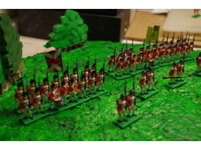 American War of Independence - Part 1 - British line infantry