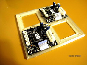 Makerbot Stepper Motor Driver Quad Bracket