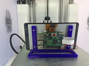 Raspberry Pi 7 in LCD Touch Screen Stand