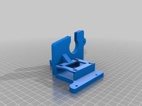 Anet A8 - Left Bracket + SD Extension Holder