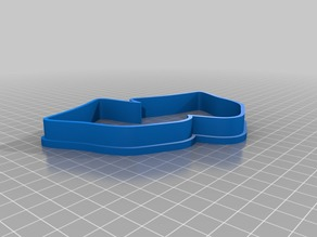 Drama masks cookie cutter (and press)