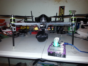 LOKI (Locate Observe Krack Isolate) Kali Linux Quadcopter Search and Rescue UAS