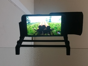 Phone mount for shower