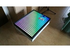 LED-Matrix-Table with 300 RGB-LEDs - Raspberry Pi