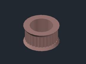 GT2 idler for 605 bearing