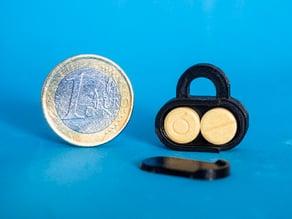 Emergency Mini PillBox keychain