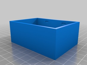 3D Printed project box with snap lid (No Screws)