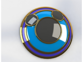Kingdom Hearts Goofy's Shield V2