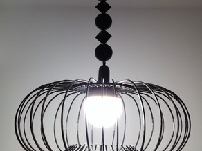 decoration for lamp cord