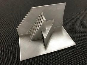 M.C. Escher Inspired Kirigami Stairs