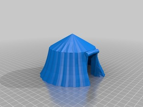 RPG large Round tent 28mm