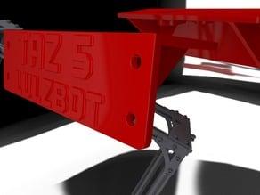 TAZ5 Z Top Drive Left & Right Brackets Strengthened