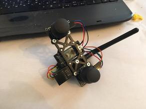 Frame for RC transmitter arduino nano