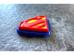 Superman Dual extruder Tri-colour trick