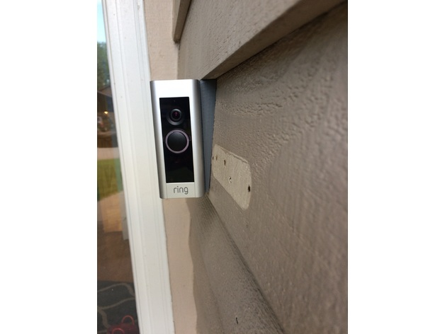 Ring Pro Doorbell Mount By Mr2quik Thingiverse