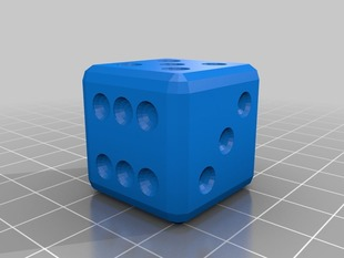 Customizable Loaded Trick Dice