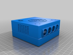 Mini Gamecube (Wii Trim)