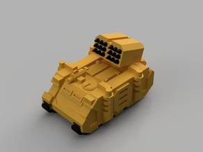 Whirlwind Artillery Vehicle for Epic 40K (6mm scale)