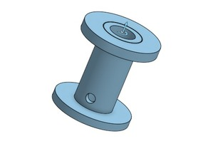 Small tin reel - Pequeño carrete para estaño 0,5 mm