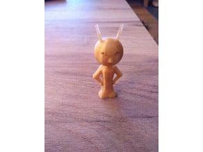 Grumpy Alien
