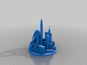 Godzilla Metropolis - Diorama - Base Fix