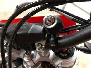 KTM ignition relocation