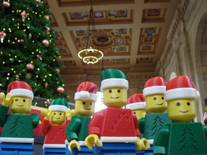 Christmas Lego Men of Kansas City