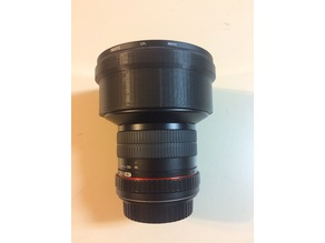 Rokinon 14mm threaded filter adaptor.