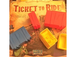 Ticket to Ride train sorter