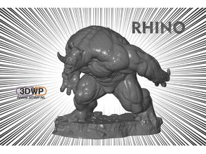 Rhino Statue (Spiderman)