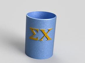 Sigma Chi pencil cup
